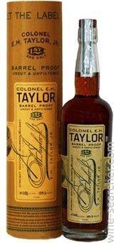 Colonel E.H. Taylor Barrel Proof Uncut & Unfiltered