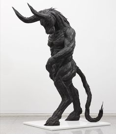 yong ho ji: hybrid-human tire sculptures. used tires, steel, synthetic resin are used.... images courtesy of yong ho ji