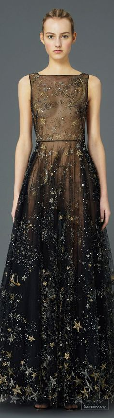 Valentino.Pre-Fall 2015. So in love with this astrophysical dress to die for! ~ETS