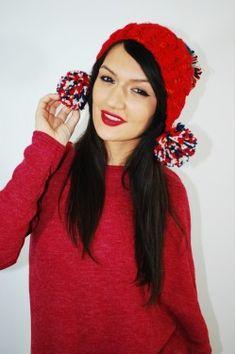 Caciula Cupcake Red