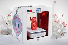 Now you can 3D print with recycled bottles.