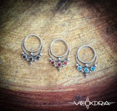 Tribal Nose RingSterling Silver Nose Ring-Silver