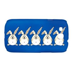 Rabbits Galaxy S3 Case on CafePress.com