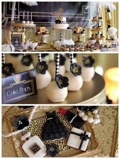 Great Gatsby Birthday Party via Kara's Party Ideas   KarasPartyIdeas.com (2)