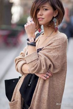 Zoé Alalouch - воплощение французского стиля в уличной моде