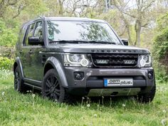 Land Rover Discovery with under body front protection and own developed front holder for Lazer Lamps