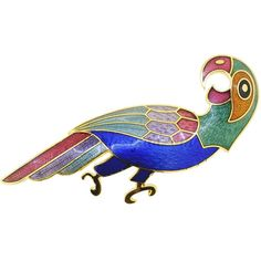 Jewellery & Watches Brooches & Pins Stunning Large Bright Toucan Bird Diamante Brooch Pin New Great Gift Profit Small