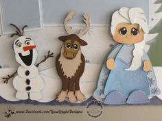 FROZEN punch art characters