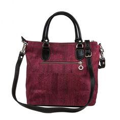 NEW LORRAINE Burgundy Cork Handbag  $199.99  New Arrival from our 2015 Fall and Winter Collection  Free Shipping to the US & Canada