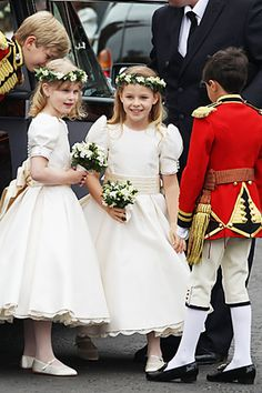 The royal wedding's cutest kids and more tots at celebrity weddings