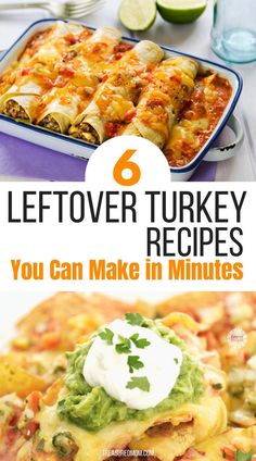 6 Quick and Easy Leftover Turkey Recipes Need some easy recipes for your Thanksgiving leftovers? These 6 Quick and Easy Leftover Turkey recipes will save the day. Enjoy your leftovers in a new way without them tasting like actual leftovers. Easy Leftover Turkey Recipes, Leftover Turkey Casserole, Thanksgiving Leftover Recipes, Leftovers Recipes, Ground Turkey Recipes, Thanksgiving Leftovers, Recipes For Leftover Turkey, Cooked Turkey Recipes, Turkey Leftovers