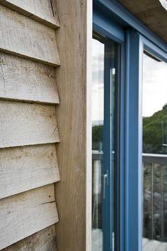 new ideas exterior wood cladding architects Wooden Cladding Exterior, Larch Cladding, House Cladding, Facade House, Wood Facade, House Paint Exterior, Exterior House Colors, Exterior Design, Timber House