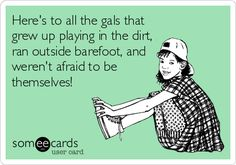 And here's to the ones who went mud bogging, 4 wheeling, and drove dirt bikes ;)