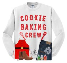 """""""Wednesday: baking christmas cookies"""" by ponyboysgirlfriend ❤ liked on Polyvore featuring Abercrombie & Fitch, Seychelles and hopeschristmascontest2016"""