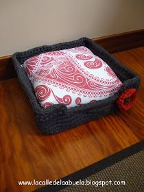 La calle de la abuela: Una cesta para Tula con trapillo