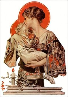p/virgin-mary-baby-jesus-deco-vintage-illustration-christmas-art-deco-prints-vintage-christmas-dig - The world's most private search engine Art And Illustration, Christmas Illustration, Vintage Illustrations, American Illustration, Jc Leyendecker, Fantasy Anime, Images Of Mary, Bing Images, Art Deco Print