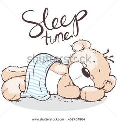 Find Cute Bear Sleeping stock images in HD and millions of other royalty-free stock photos, illustrations and vectors in the Shutterstock collection. Teddy Bear Quotes, Teddy Bear Images, Teddy Bear Drawing Easy, Cartoon Drawings, Easy Drawings, Sleeping Drawing, Cute Baby Elephant, Pig Art, Baby Embroidery