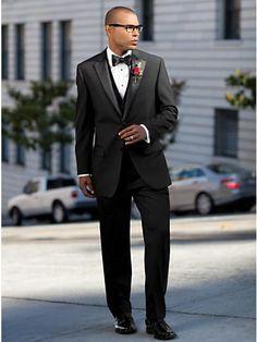 ac065587240b Wedding Party Black Tuxedo - Men s HDN