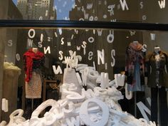 anthropologie windows. The power of letters and words. Find inspirational speeches. Talking to end arguments. Talking to start arguments. Rhetoric.