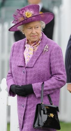 """When I am old,  I shall wear purple"""
