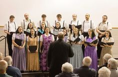 Under the leadership of a conductor, many Hutterite colonies have their own choirs who sing in four-part harmony (SATB). Young people sing at old folks homes, charity fundraisers, and in hospitals, using their songs to spread the gospel of Jesus.