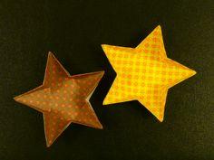 折り紙 ~星の器~ - えつこのマンマダイアリー