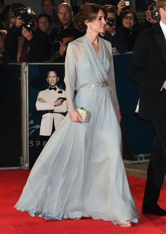 Kate Middleton attend Royal World Premiere of 'Spectre'
