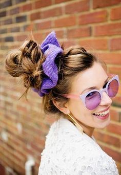 Hope I am not that only one that is happy scrunchies are back, WAHOOO