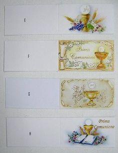 bigliettini prima comunione per confetti da stampare gratis - Cerca con Google