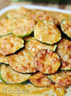 Parmesan Zucchini Rounds | 01Recipes