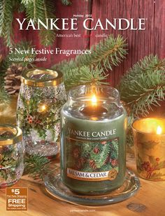 Catalog Spree - Yankee Candle - Holiday 1 2012 Catalog