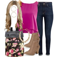 Alison Dilaurentis inspired outfit by liarsstyle on Polyvore featuring Bisou Bisou, H&M, Aéropostale, Madden Girl, Lane Bryant, school, college and ss