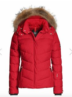 Bogner Fire + Ice Red Ski Jacket 3d8e36d72