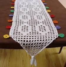 camino de mesa a crochet patrones - Buscar con Google