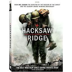 Hacksaw Ridge         * Continue to the product at the image link. (This is an affiliate link and I receive a commission for the sales)