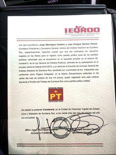 Periodismo sin Censura: SURGE EL PRIMER PARTIDO POLÍTICO LOCAL EN LA HISTO...