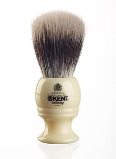 Kent Infinity Shaving Brush w/ Silvertex - INF1