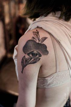 #eye #tattoo on the arm