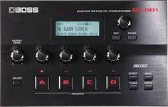Boss GT-001 Desktop Guitar Multi-Effects Processor