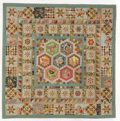 Brinton Hall - pattern in Quilt mania magazine issues 107 & 108