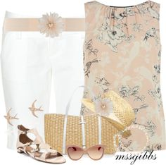 """""""Spring Tops"""" by mssgibbs ❤ liked on Polyvore"""