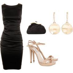 La Chica Bien: 10 Formas de combinar un vestido negro.