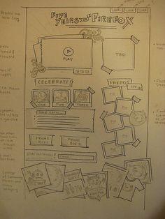 Wireframe sketch, Musingt