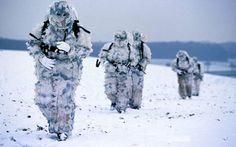 French GCM Mountain Brigade Commandos.