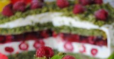 Szpinakowo- malinowy tort. Sprawdź! Cooking Recipes, Cookies, Cake, Strawberry Cakes, Strawberries, Crack Crackers, Chef Recipes, Biscuits, Kuchen
