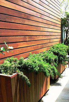 Backyard Planter