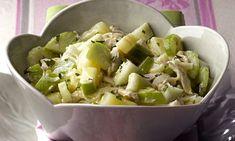 Salpicão de maçã verde e peito de peru ao molho de iogurte: uma combinação incrível