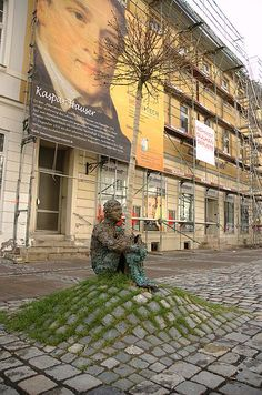 sculpture in Ansbach, Germany