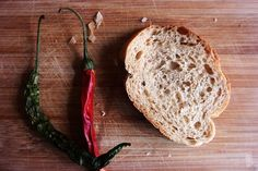Pepper and Bread by musato