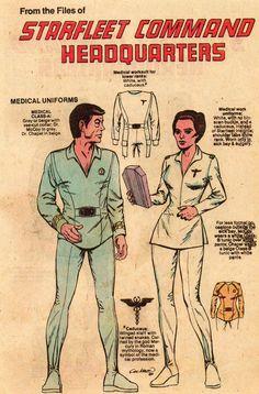 Starfleet uniforms 3